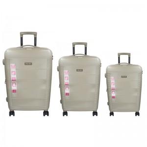 Sada 3 cestovních kufrů Snowball Mocca S,M,L