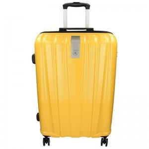 Cestovní kufr Snowball Lada L – žlutá 74l