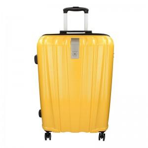 Cestovní kufr Snowball Lada M – žlutá 74l