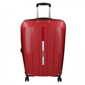 Cestovní kufr Snowball Barcelona M – vínová 65l