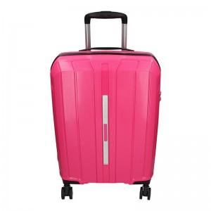 Cestovní kufr Snowball Barcelona S – růžová 35l