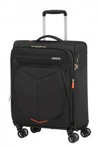 American Tourister Kabinový cestovní kufr Summerfunk Spinner EXP 78G 43/46 l – černá