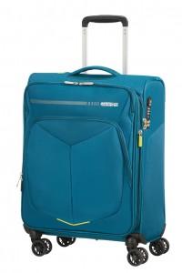 American Tourister Kabinový cestovní kufr Summerfunk Spinner EXP 78G 43/46 l – modrá