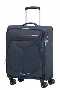 American Tourister Kabinový cestovní kufr Summerfunk Spinner EXP 78G 43/46 l – tmavě modrá