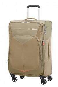 American Tourister Cestovní kufr Summerfunk Spinner EXP 78G 71,5/77 l – béžová