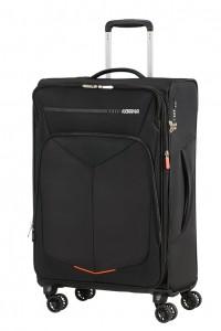 American Tourister Cestovní kufr Summerfunk Spinner EXP 78G 71,5/77 l – černá