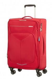 American Tourister Cestovní kufr Summerfunk Spinner EXP 78G 71,5/77 l – červená