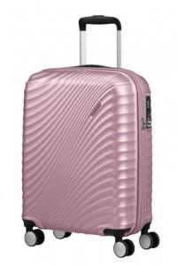 American Tourister Jetglam S palubní kufr TSA 55x40x20 cm Metallic Pink