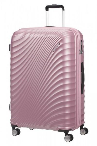 American Tourister Jetglam L rozšiřitelný cestovní kufr TSA 67 cm 109 l Metallic Pink