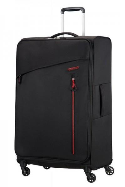 American Tourister Litewing L cestovní kufr 81 cm 2,7 kg 99 l Volcanic Black