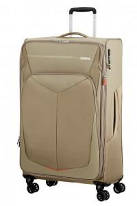 American Tourister Cestovní kufr Summerfunk Spinner EXP 78G 109,5/119 l – béžová