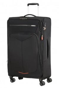 American Tourister Cestovní kufr Summerfunk Spinner EXP 78G 109,5/119 l – černá