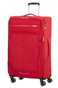American Tourister Cestovní kufr Summerfunk Spinner EXP 78G 109,5/119 l – červená