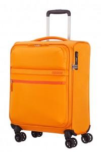 American Tourister Kabinový cestovní kufr Matchup Spinner 77G 42 l – žlutá