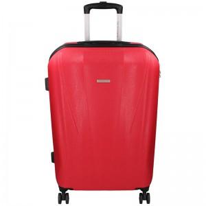 Cestovní kufr Marina Galanti Fuerta L – červená 95l