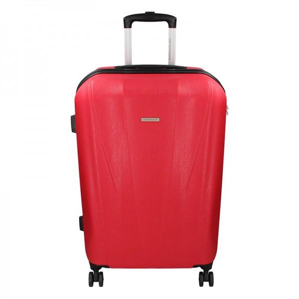 Cestovní kufr Marina Galanti Fuerta M – červená 78l