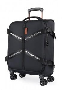 March Kabinový cestovní kufr Exploration S 3834 39 l – černá