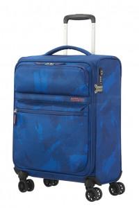 American Tourister Kabinový cestovní kufr Matchup Print Spinner 77G 42 l – camo blue