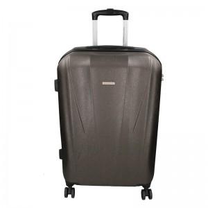 Cestovní kufr Marina Galanti Fuerta M – tmavě šedá 78l