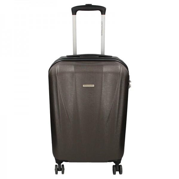 Cestovní kufr Marina Galanti Fuerta S – tmavě šedá 39l