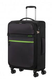 American Tourister Cestovní kufr Matchup Spinner 77G 71/78 l – černá