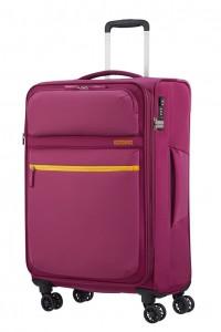 American Tourister Cestovní kufr Matchup Spinner 77G 71/78 l – růžová