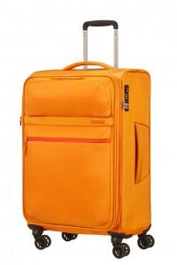American Tourister Cestovní kufr Matchup Spinner 77G 71/78 l – žlutá