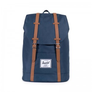 Herschel Supply Retreat Navy/Tan