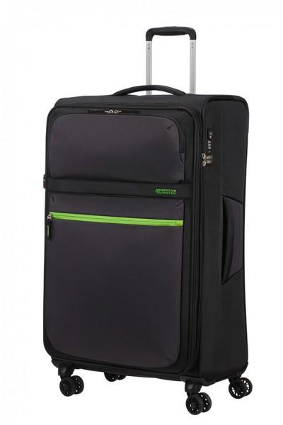 American Tourister Cestovní kufr Matchup Spinner 77G 107/115 l – černá