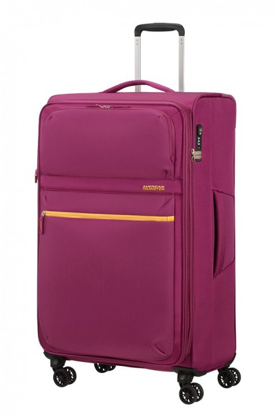American Tourister Cestovní kufr Matchup Spinner 77G 107/115 l – růžová