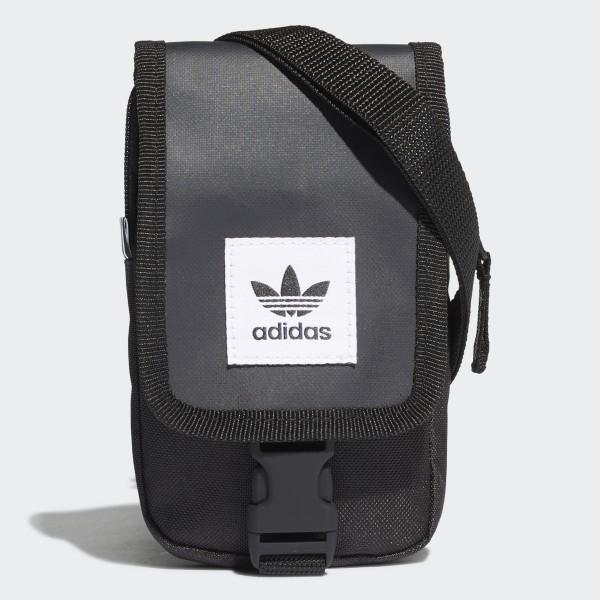 adidas Map Bag černá Jednotná 5281573