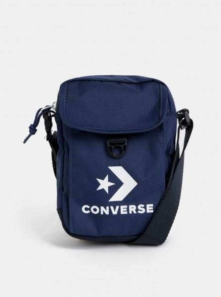 Tmavě modrá crossbody taška s potiskem Converse
