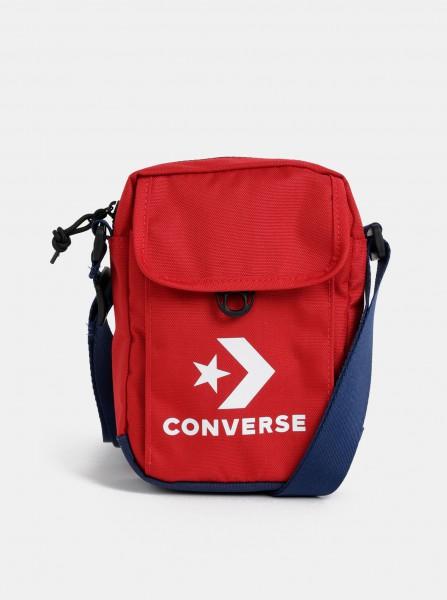 Červená crossbody taška s potiskem Converse