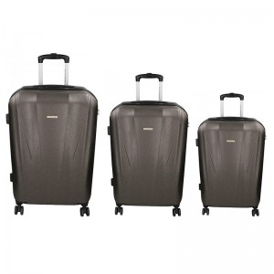 Sada 3 cestovních kufrů Marina Galanti Fuerta S, M, L – modrá