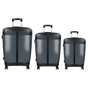 Sada 3 cestovních kufrů Snowball Endrs S,M,L – černá