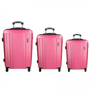 Sada 3 cestovních kufrů Madisson Reina S,M,L – růžová