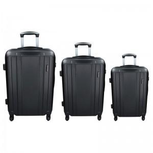 Sada 3 cestovních kufrů Madisson Reina S,M,L – černá