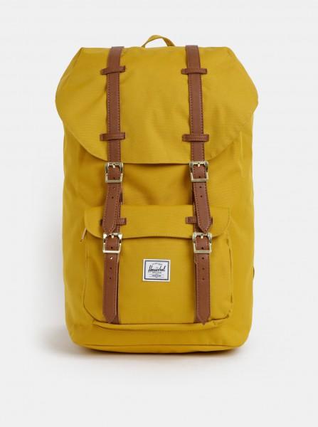 Hořčicový batoh Herschel Little America 25 l