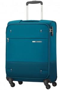 Samsonite Kabinový cestovní kufr Base Boost Spinner 38N 39 l – petrol blue stripes