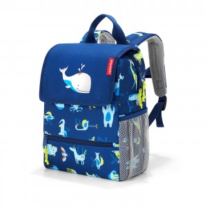 Reisenthel Backpack Kids Abc friends blue