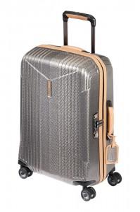 Hartmann Kabinový cestovní kufr 7R Spinner 38 l – stříbrná