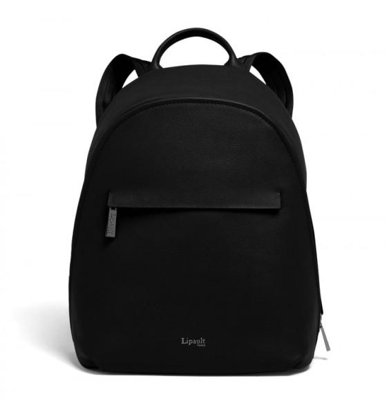 Lipault Dámský batoh Plume Elegance P62 9 l – černá