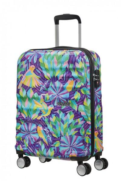 American Tourister Kabinový cestovní kufr Wavebreaker X Shanti 84G 36 l – hummingbird