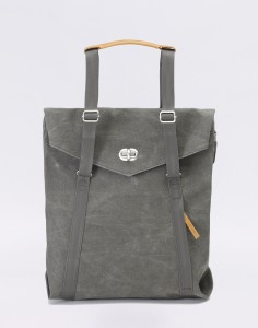 Batoh Qwstion Tote Organic Washed Grey