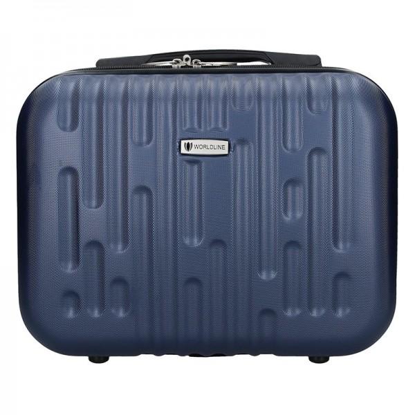 Kosmetický cestovní kufřík Airtex Worldline Kuga XS – modrá 15l