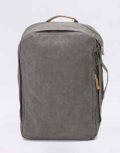Batoh Qwstion Backpack Organic Washed Grey