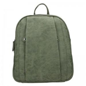Trendy dámský batoh Just Dreamz Leona – olivová