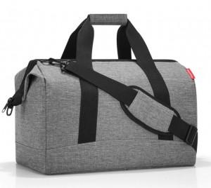 Cestovní taška Reisenthel Allrounder L Twist silver