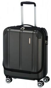 Travelite City 4w S business palubní kufr 55x40x20 cm 40 l Anthracite