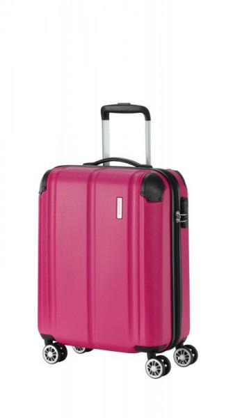 Travelite City 4w S palubní cestovní kufr 55x40x20 cm 40 l Berry